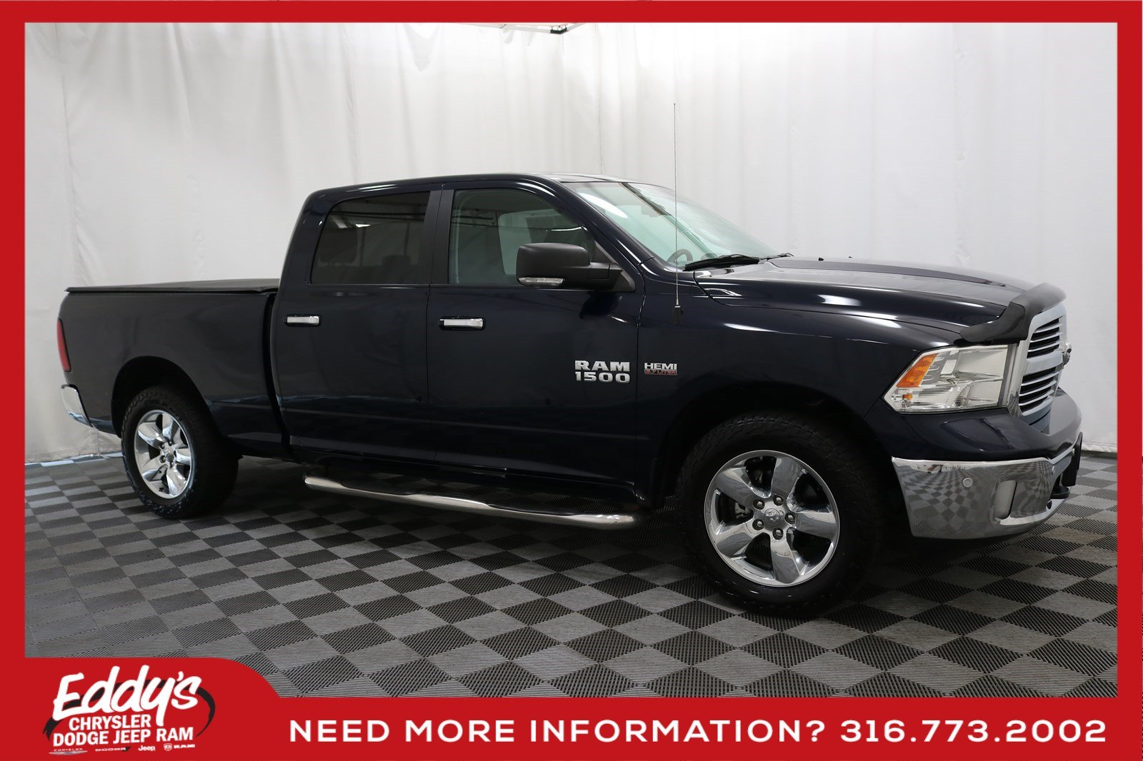 Pre-Owned 2016 Ram 1500 Crew Cab Big Horn 4x4