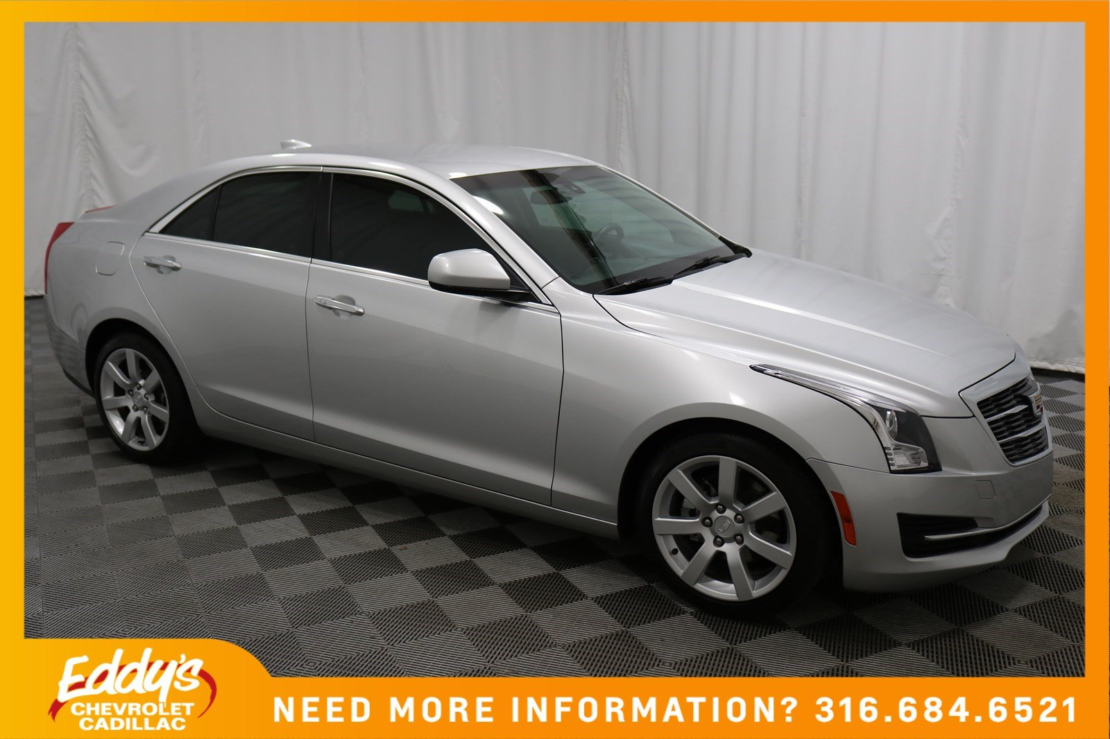 Certified Pre-Owned 2015 Cadillac ATS Sedan Standard