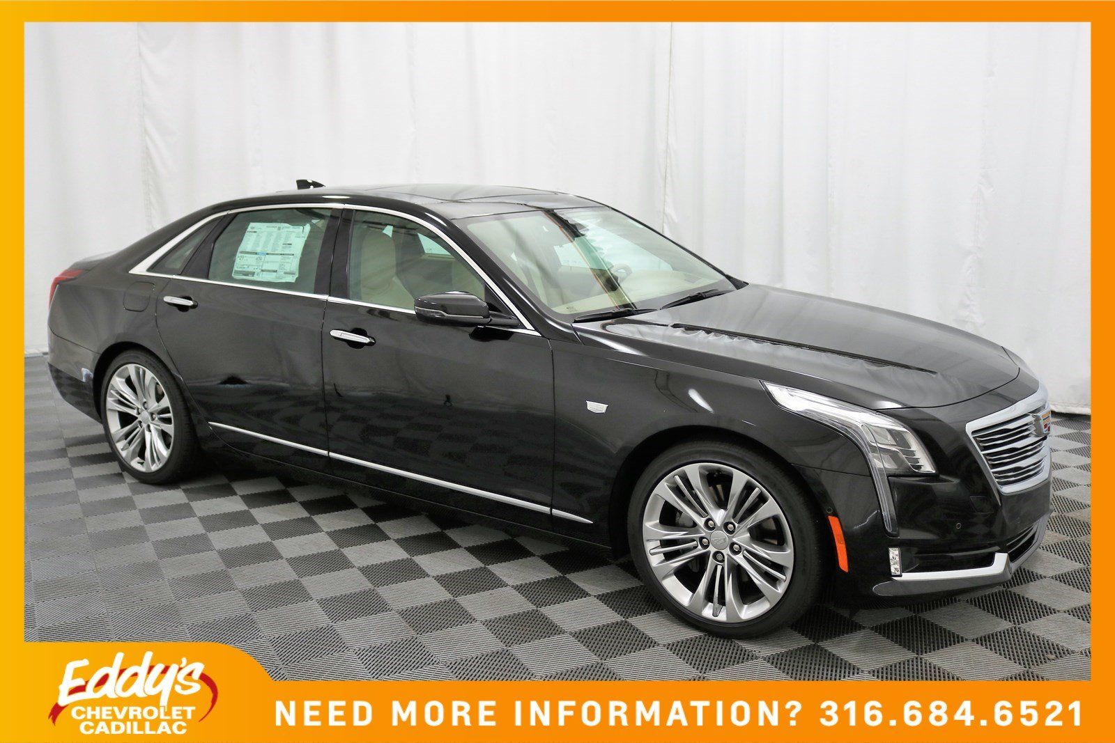 New 2018 Cadillac CT6 Sedan Platinum All-Wheel Drive