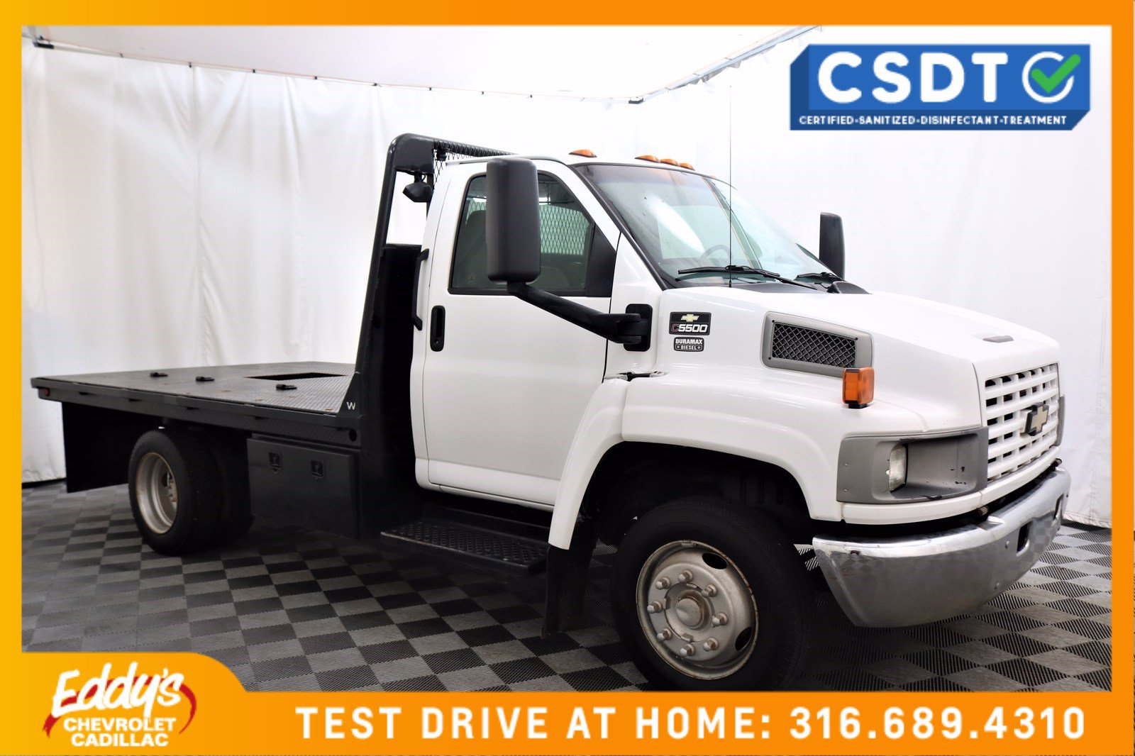 Pre-Owned 2007 Chevrolet CC5500 Flat-bed