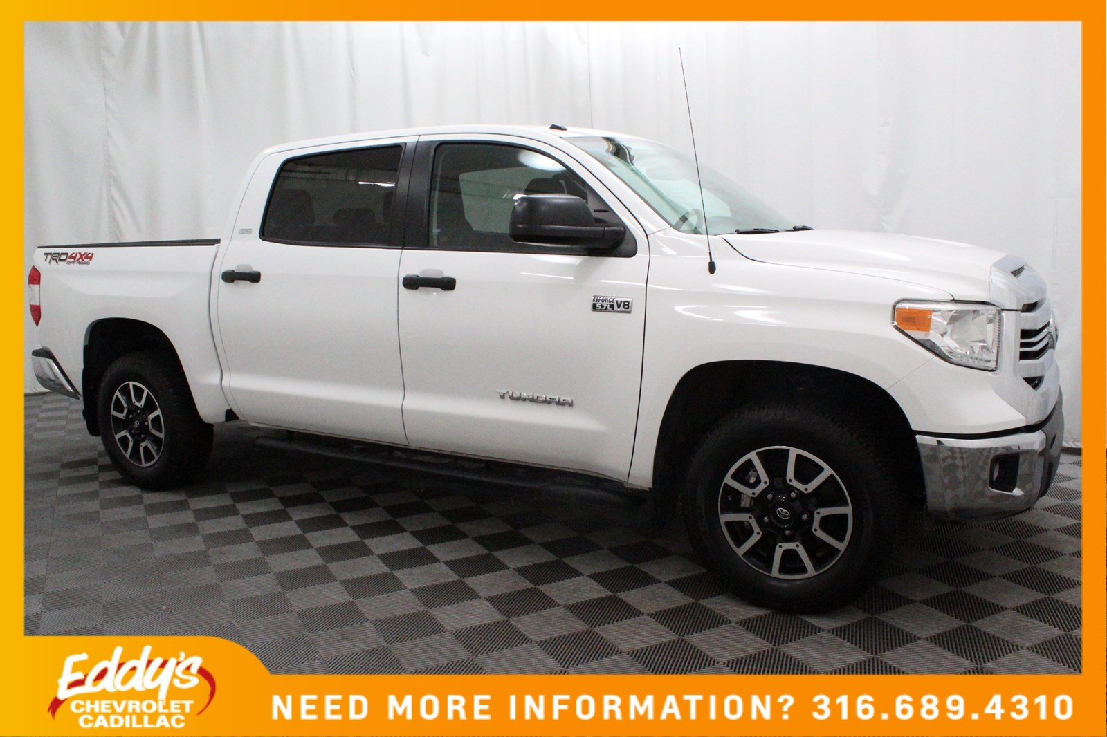Pre-Owned 2017 Toyota Tundra 4WD SR5