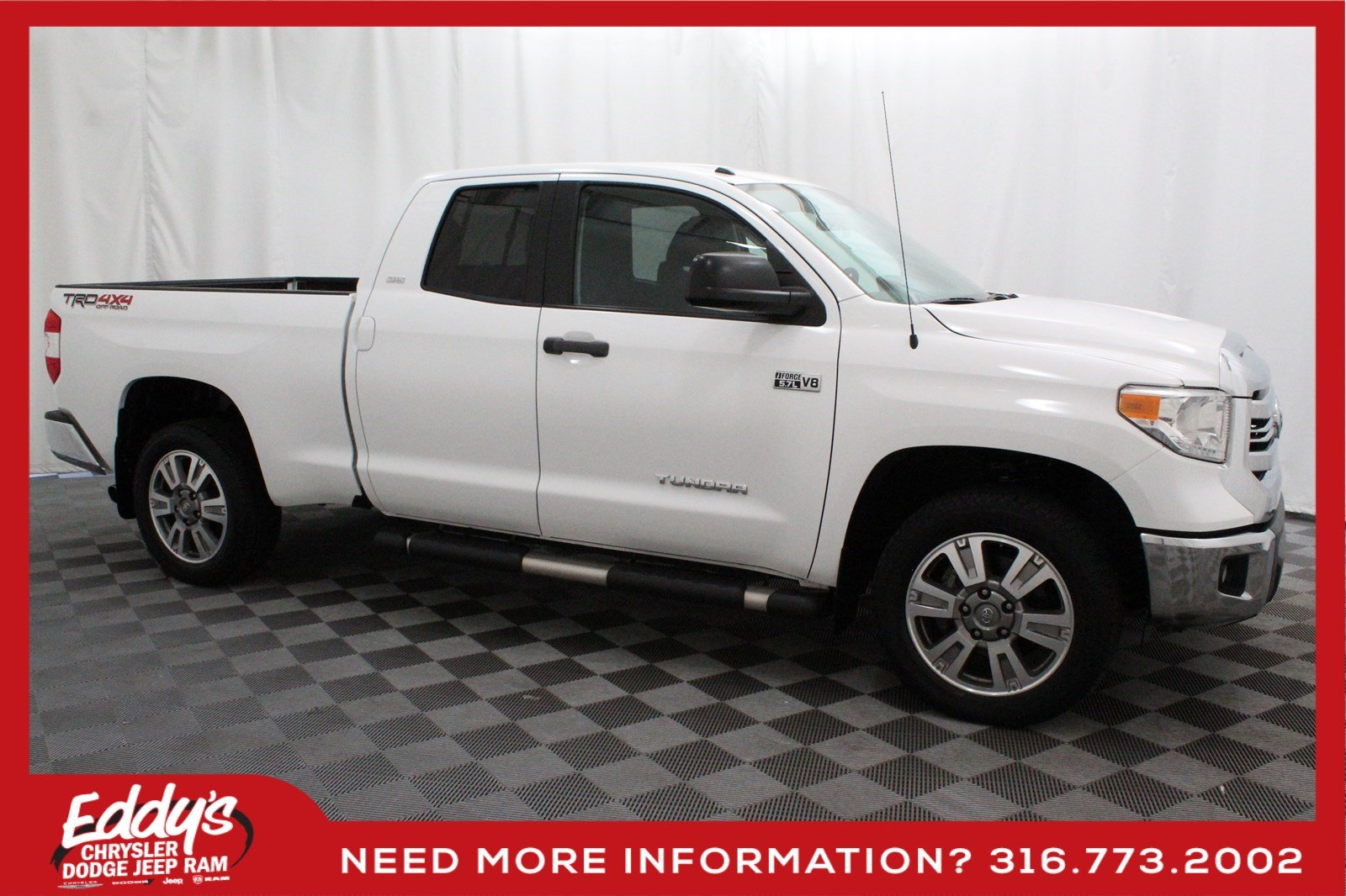 Pre-Owned 2016 Toyota Tundra Crew Cab SR5 TRD Off-Road 4x4