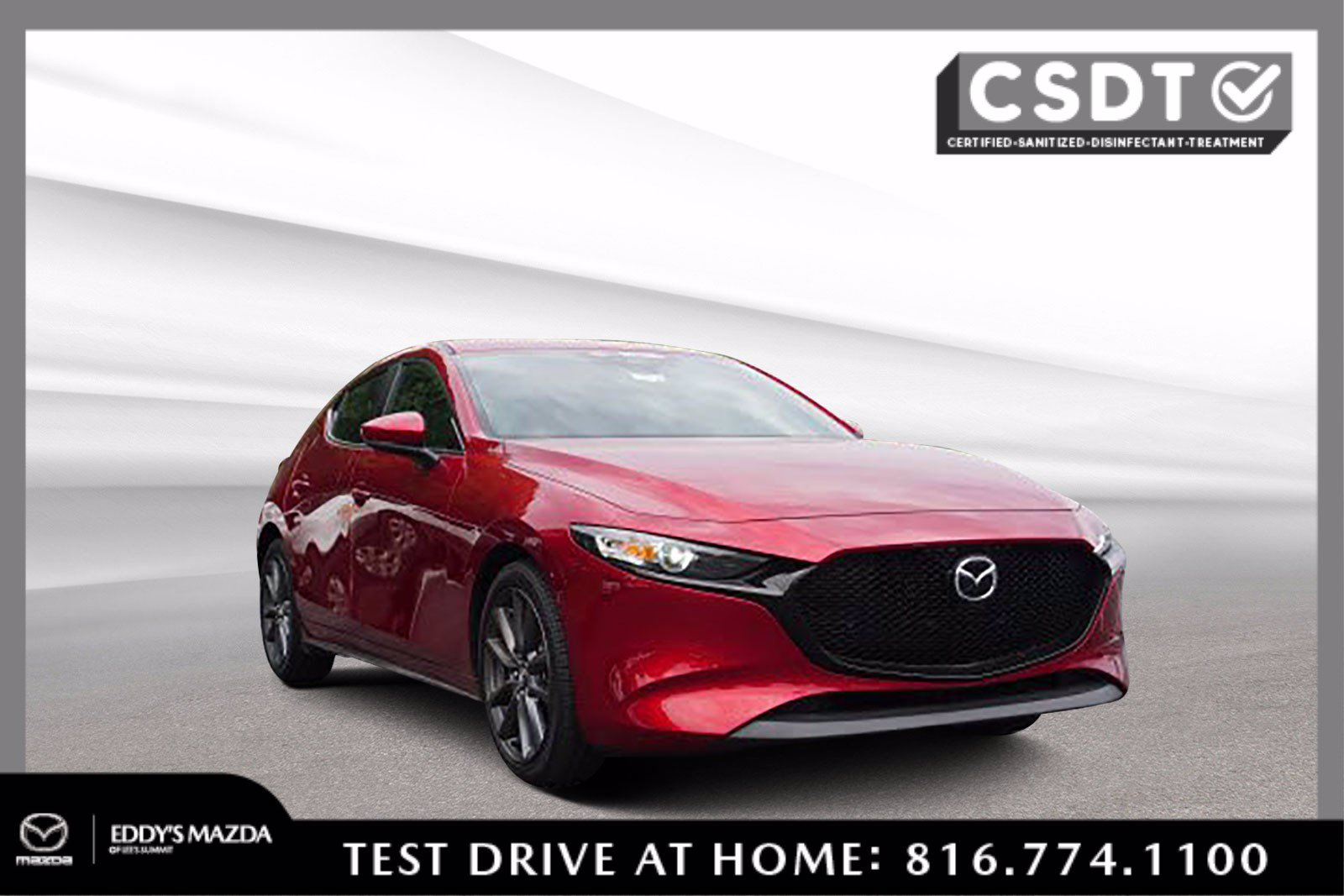 Certified Pre-Owned 2019 Mazda 3 Hatchback