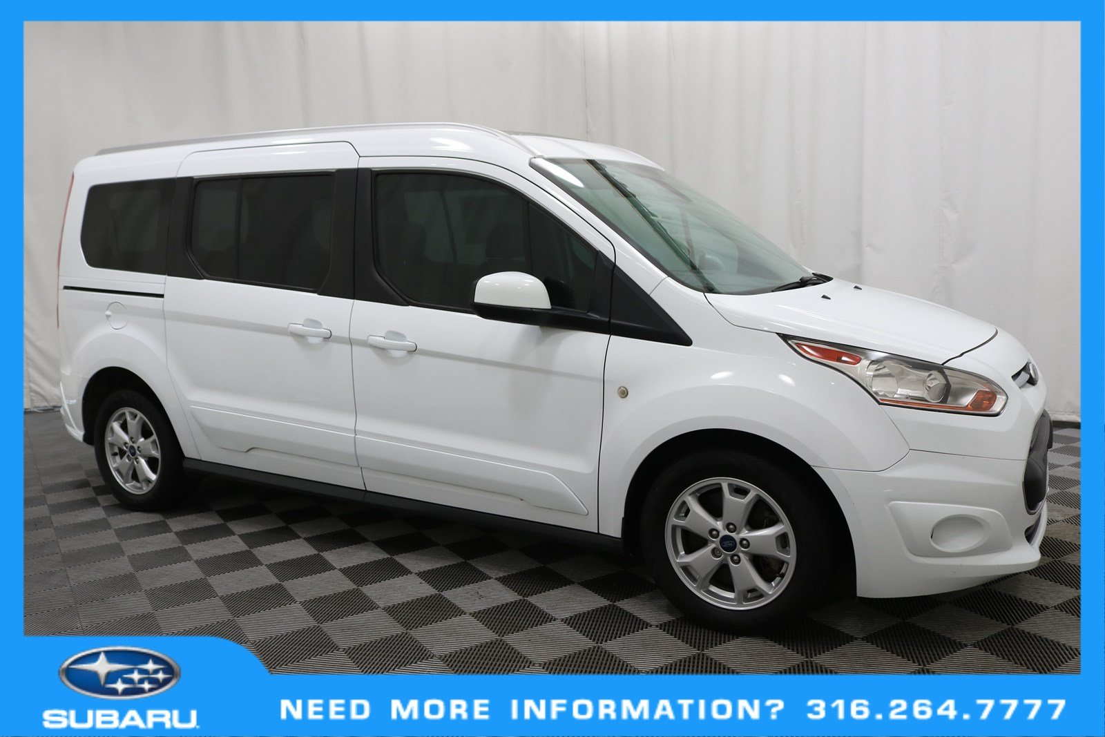 Pre-Owned 2016 Ford Transit Connect Wagon Titanium