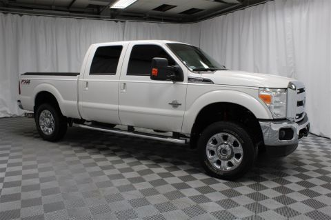 Pre-Owned 2014 Ford Super Duty F-350 SRW Crew Cab Lariat 4x4