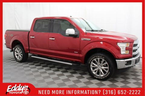 Pre-Owned 2016 Ford F-150 Crew Cab Lariat 4x4