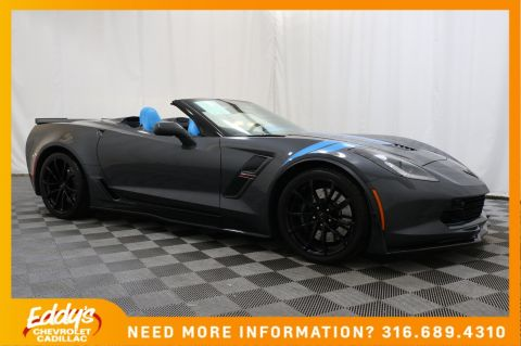 Pre-Owned 2017 Chevrolet Corvette Grand Sport 3LT