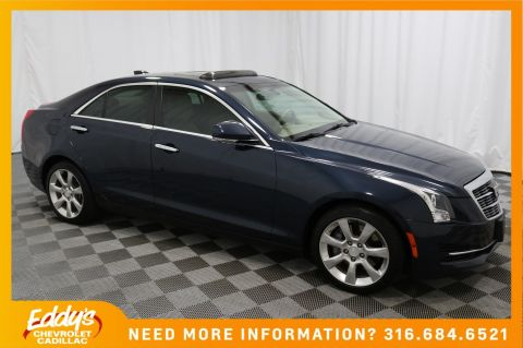 Pre-Owned 2016 Cadillac ATS Sedan Luxury Collection All-Wheel Drive
