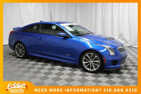 Pre-Owned 2017 Cadillac ATS-V Coupe Base