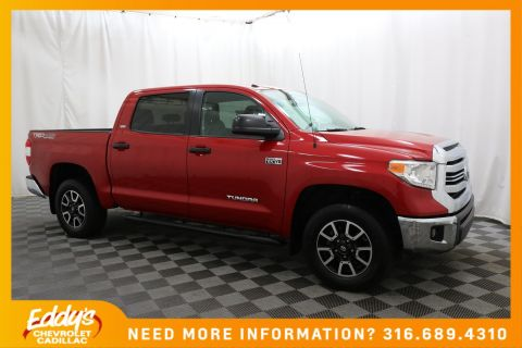 Pre-Owned 2017 Toyota Tundra 4WD Crew Cab SR5 4x4