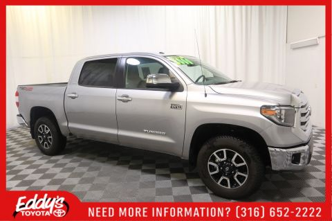 Pre-Owned 2018 Toyota Tundra 4WD CrewMax Limited 4X4