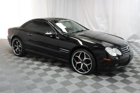 Pre-Owned 2005 Mercedes-Benz SL-Class 5.0L